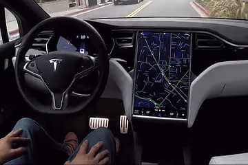 Tesla Autopilot Crashed