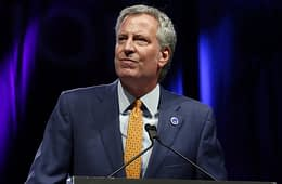 Bill de Blasio at the Netroots