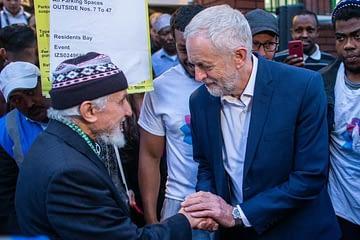 Jeremy Corbyn Opens Iftar 2019